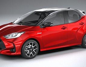 3D model Toyota Yaris 2020