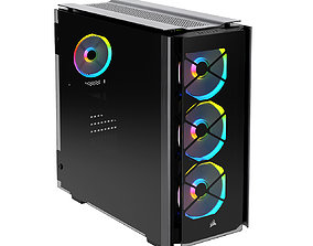 3D Obsidian Series 500D RGB PC SE Case by