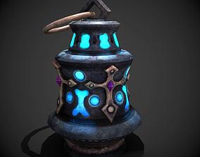3D asset magic lamp