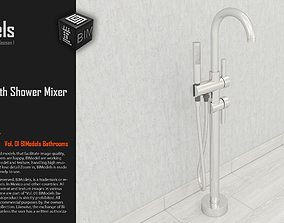 3D model 0163 Standing Bath Shower Mixer Tap