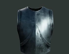 3D asset Medieval armor parts 002 - armor