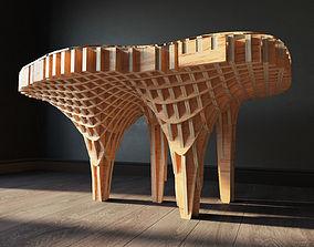 3D Parametric table Mushroom