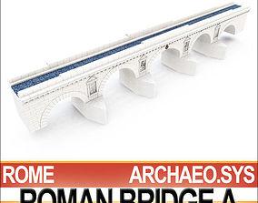 3D Imperial Ancient Roman Bridge A