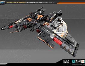 3D asset FEDERATION Frigate GX8