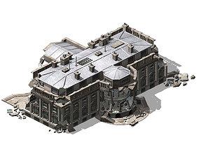 Different dimension - architecture - ruins 05 3D