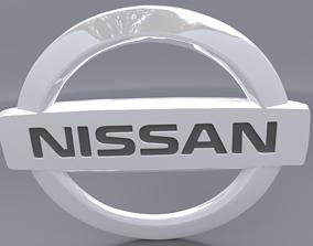 3D nissan logo racing
