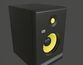 3D asset Studio Monitor - 4K PBR