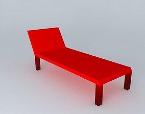 Chaise-longue 3D model