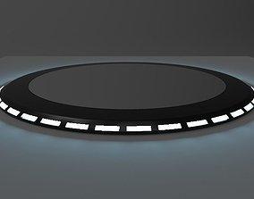 Car Platform Round 3D model