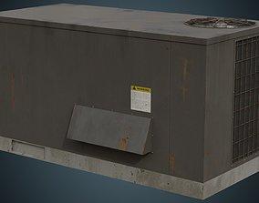 3D asset Rooftop AC Unit 5B