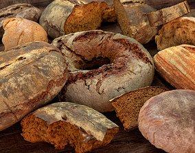 3D model Tasty Bread Pack vol01