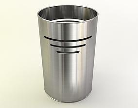 Bin in fancy metals and colors 3D