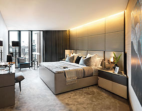 Modern Bedroom LD 3D model design