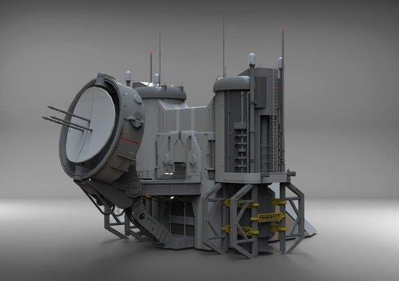 sci-fi radar