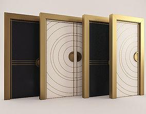 art deco doors 3dmodel
