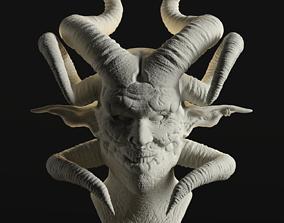 monster 3D printable model Devil
