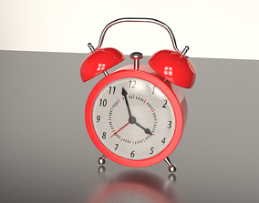alarm clock 3D animated