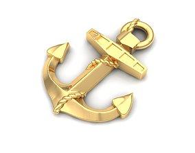 gem Pendant anchor 3D printable model