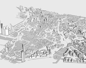 Hong Kong City 3D model