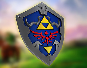 The Legend of Zelda - Hylian Shield 3D printable model