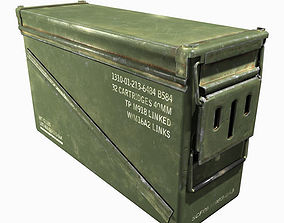 40mm Ammo Box 3D model