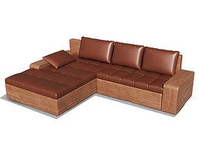 Big Sofa 3D model