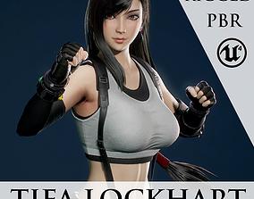 Tifa Lockhart - Game Ready 3D asset