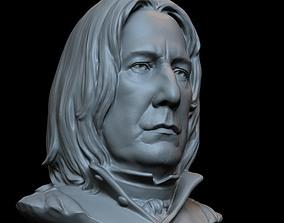 3D print model Professor Severus Snape - Alan Rickman - 2