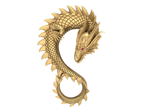 Dragon 3d other jwellery