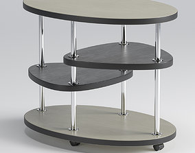3D model Oval table 85