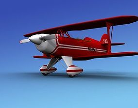Pitts Special 3D rigged