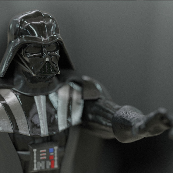 DARTH VADER 3D fan-made SCULPT