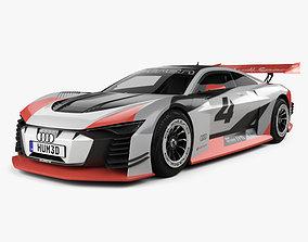 3D Audi e-tron Vision Gran Turismo 2018