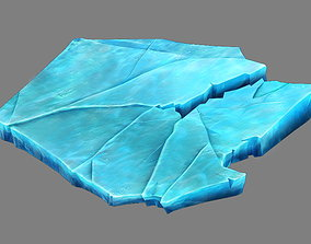 Game Model - snow - ice 01 3D