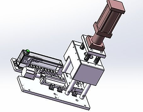 laminate mechanism 3D model