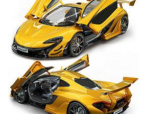 3D model McLaren p1 supercar
