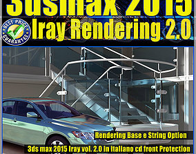 3ds max 2015 Iray Rendering e String Option vol 2 cd