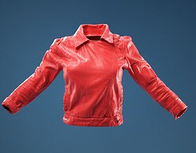 Jacket Dark Jeans Closed 3D character