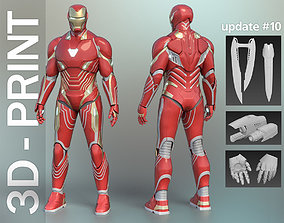 Iron Man Mark 48-50 Infinity War wearable 3D-Printable