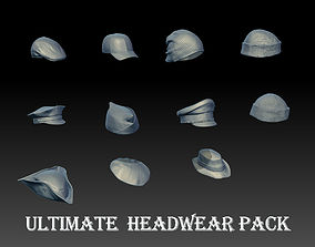 3D model Ultimate pack Headwear High quality