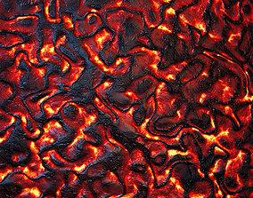 HQ Lava Textures 3D
