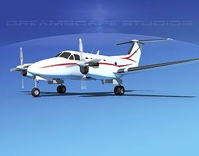 3D model Beechcraft B200 GT King Air V08