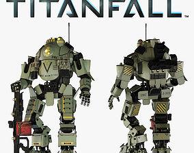 3D model Titanfall Atlas