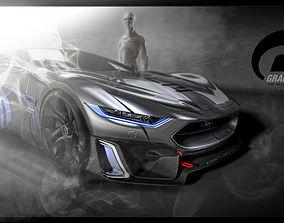 future 3D concept car