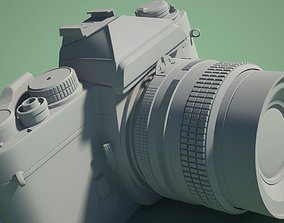 Nikon FE Grey Mental Ray 3D