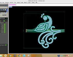 design cursor 3D bracelets - jewelry 3d