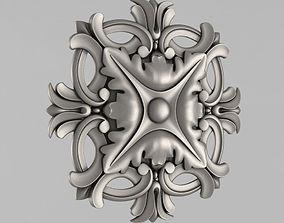 3dprint classical Decor Rosettes 3D printable model