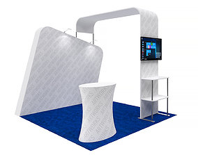 Exhibition booth 10x10ft 3DM015