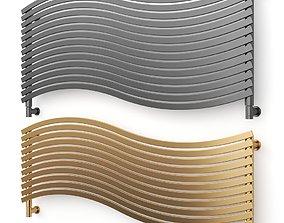 3D model LOLA Horizontal decorative radiator by Cordivari