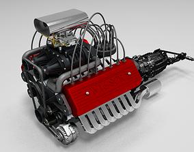 3D print model W16 Engine Muscle